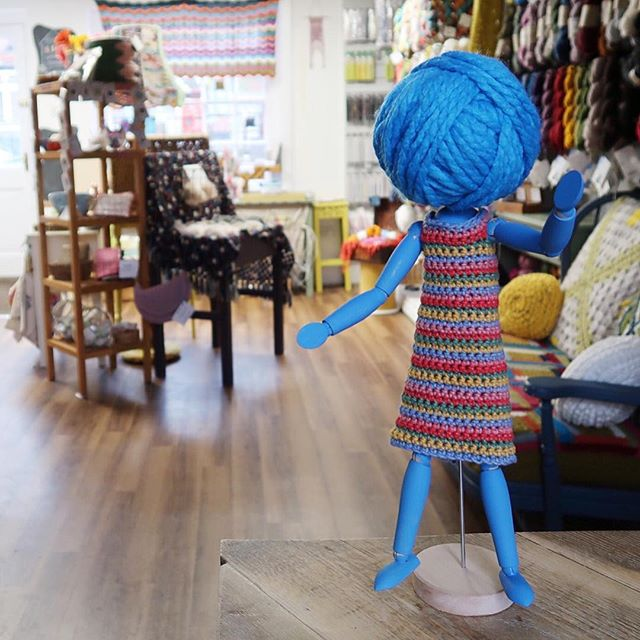 Hello folks! I'd like to introduce you to Woolma - our new campaign mascot, previously seen campaigning in our logo! She's off on a little adventure around the country to visit the shops in our campaign and have a mooch about and report back to you lot with what she finds. Get involved in the discussion over on our stories about what you want your local yarn shop to provide you with. . . . Now...can any of you guess where Woolma is today? 💫 . . . #keepyarnonourstreets #yarnshop #woolshop #woolma #smallbusiness