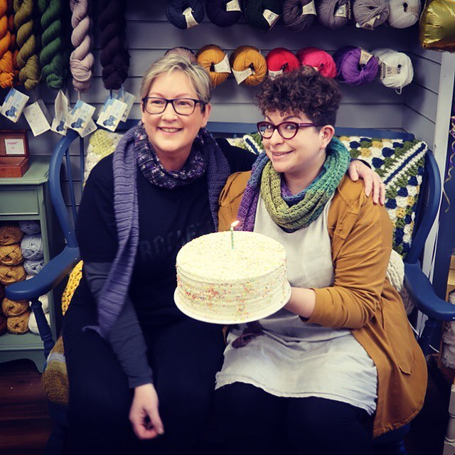 Did you guess right? Of course Woolma kicked off her journey at our very own shop @thefibrelounge - she had a massive slab of cake at our first birthday party and then packed her bags and left. We are based in Kings Langley, Hertfordshire and have a massive passion for crochet, handmade and supporting other small businesses with our own. I started this campaign because it's bloody tough out there, and we need yarn shops on our streets to keep giving us crafties a place to learn, get  advice, squeeze yarns and try new things. A place for a community to thrive. Next time you are off on your travels, have a peep at our map in case there is a yarn shop nearby - you'll find the link in our bio! . . . #keepyarnonourstreets #thefibrelounge #whereswoolma