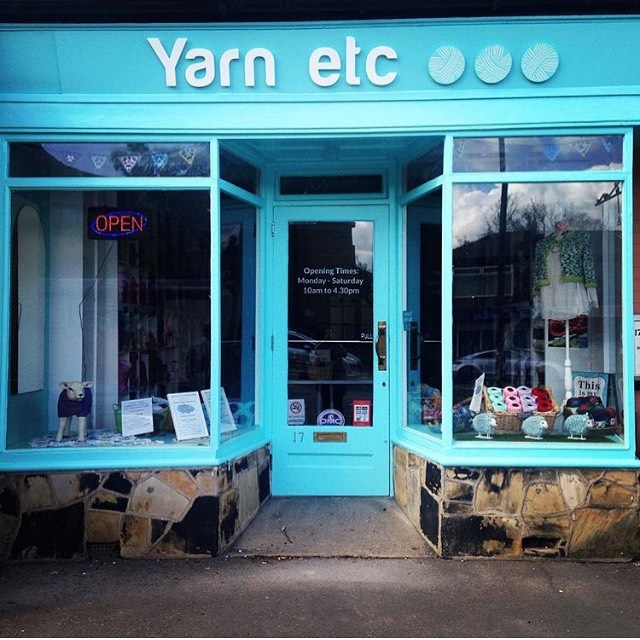 Did you guess where Woolma stopped last week? She had popped along to @yarn_etc and over on our stories we've got a little tour of the shop for you! . . . #keepyarnonourstreets