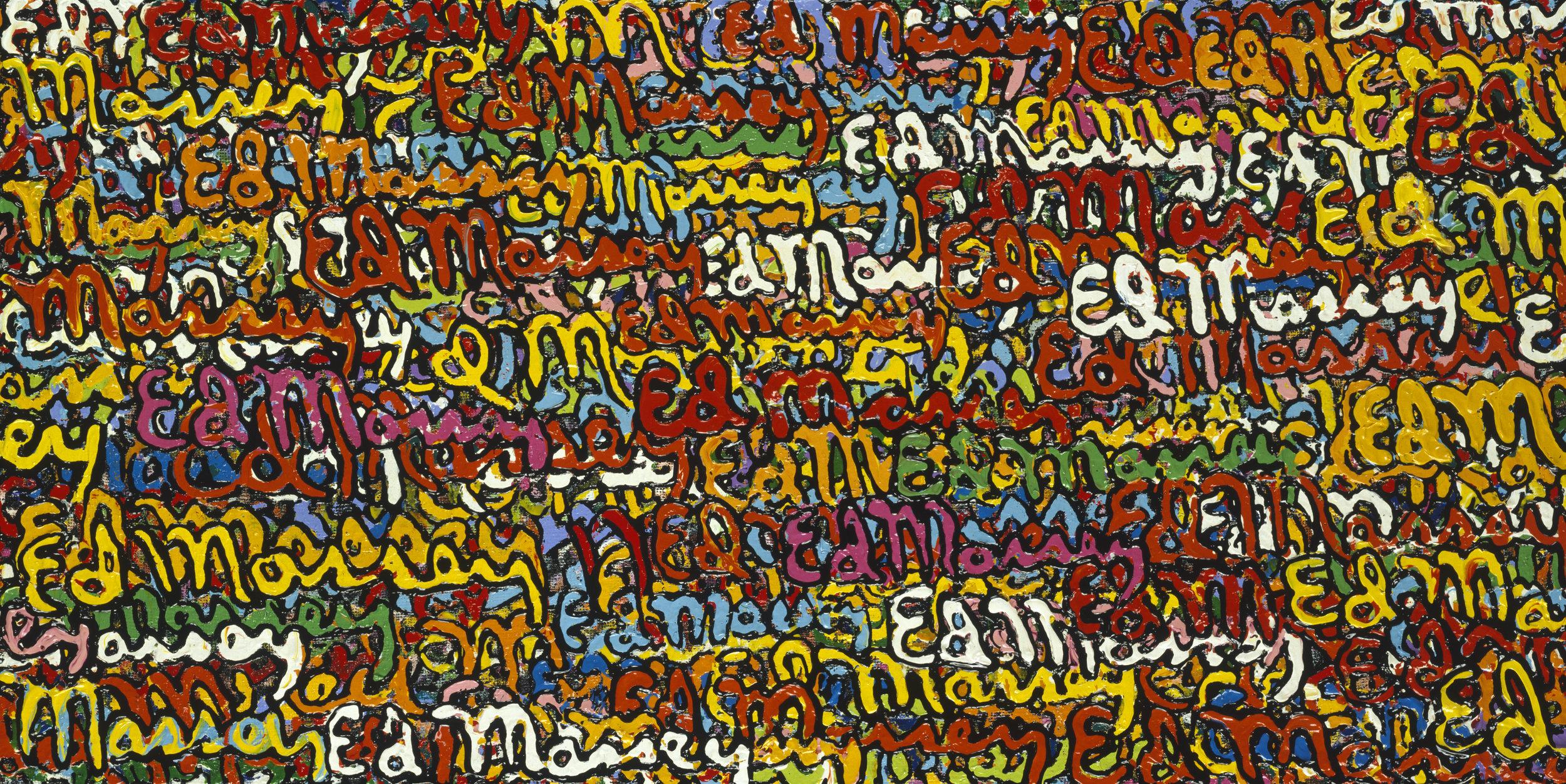 Signature painting, 2001
