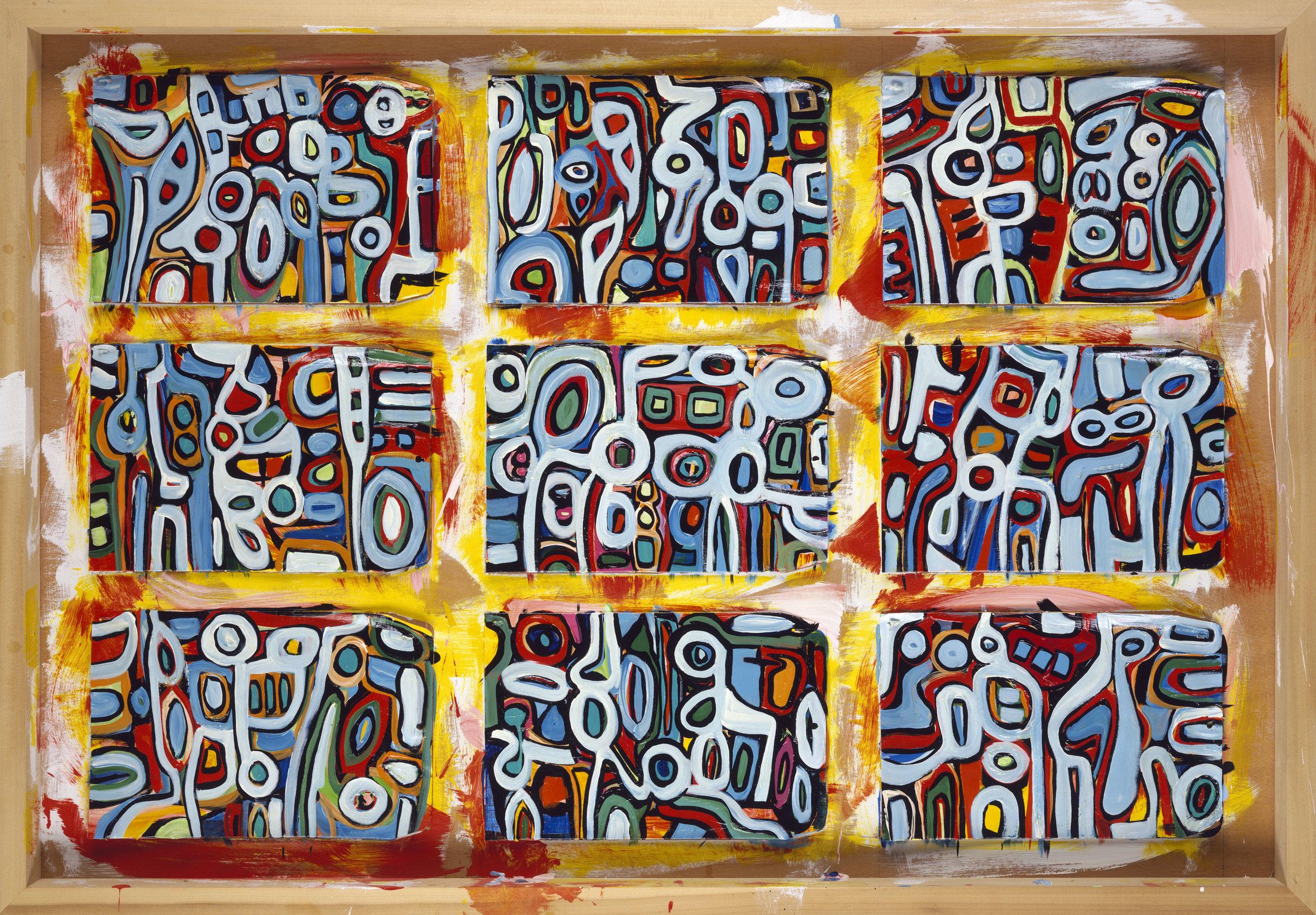 Workboard # 9, 2000