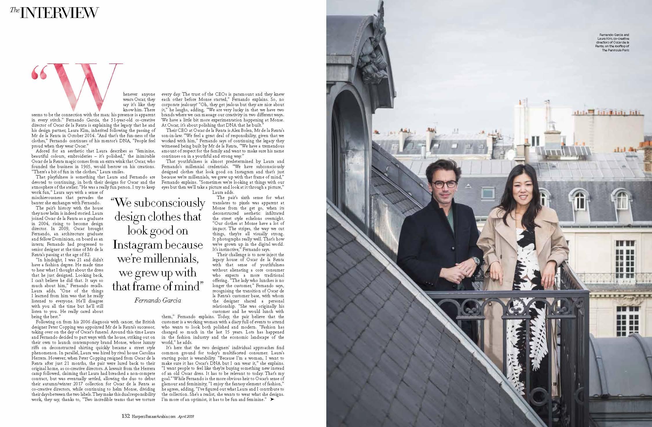Laura Kim and Fernando Garcia, April 2018 2.jpg