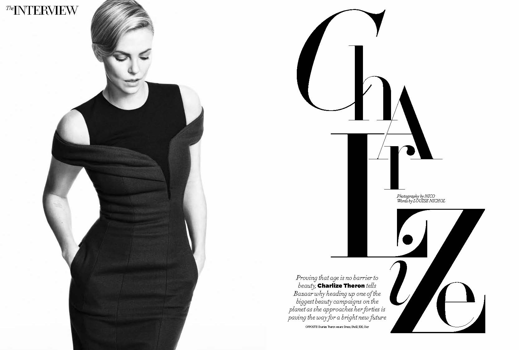 Charlize Theron, October 2014