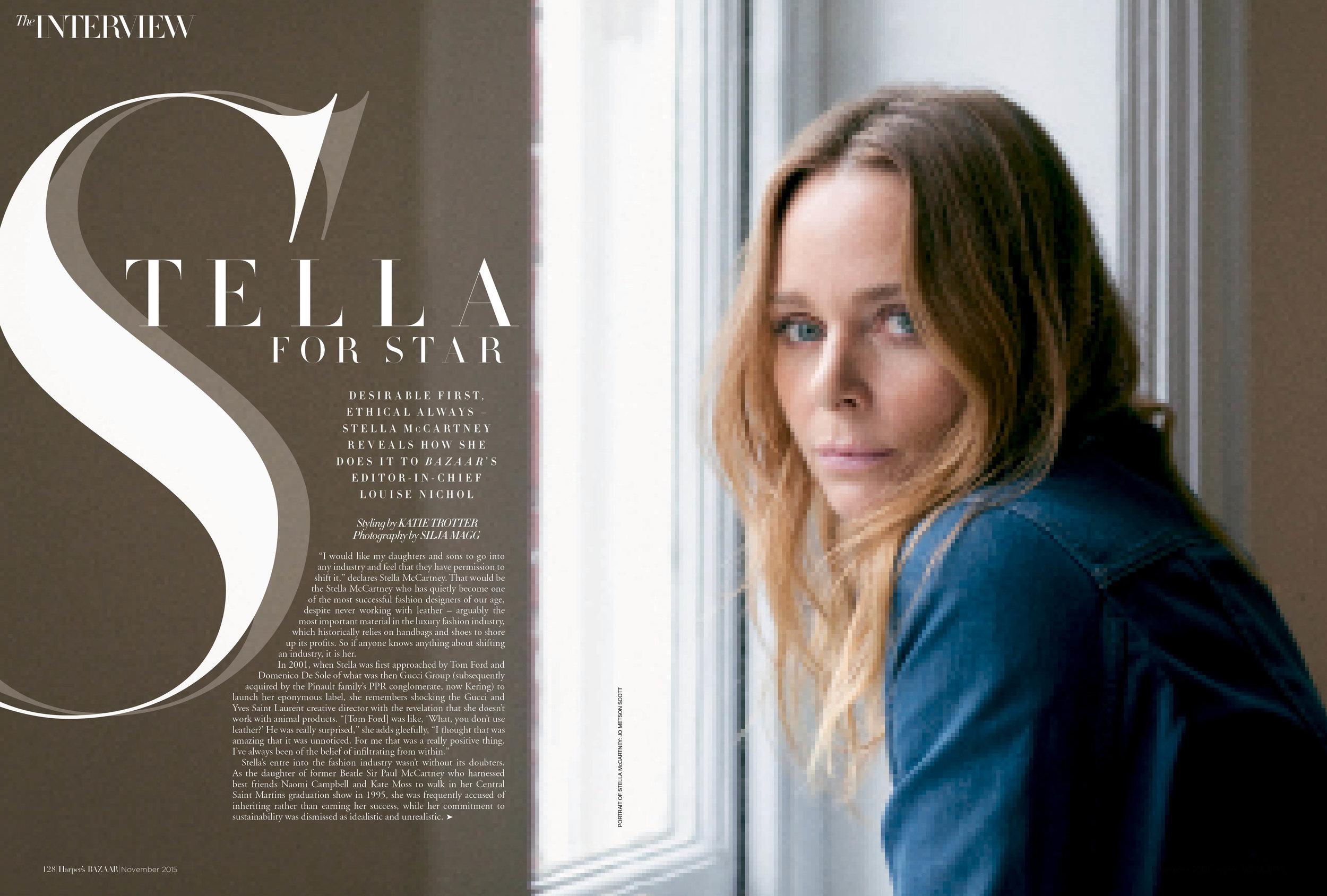 Stella McCartney, November 2015