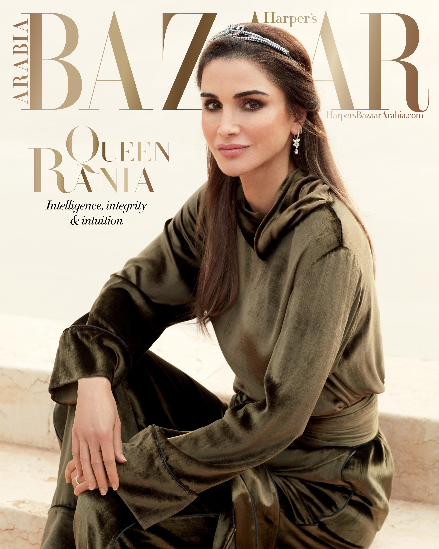 Queen Rania of Jordan, March 2019