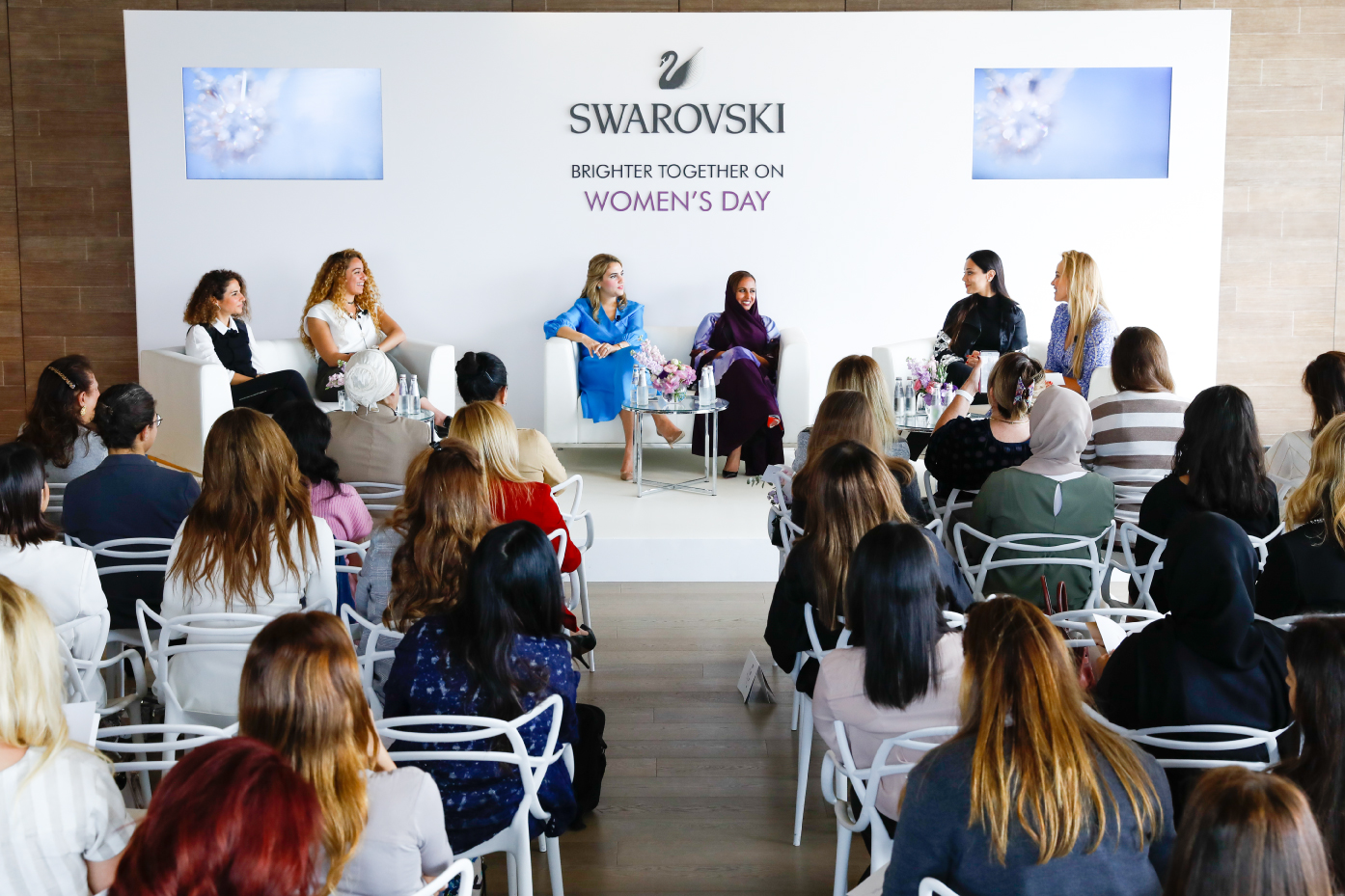 Swarovski International Women's Day panel, March 2019