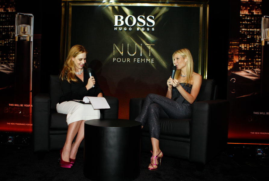 Q&A with Gwyneth Paltrow, The Dubai Mall, November 2012