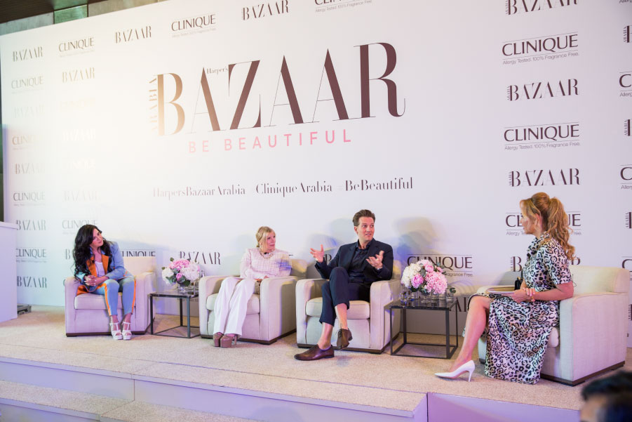 Harper's Bazaar Be Beautiful Conference, chair and moderator, May, 2018