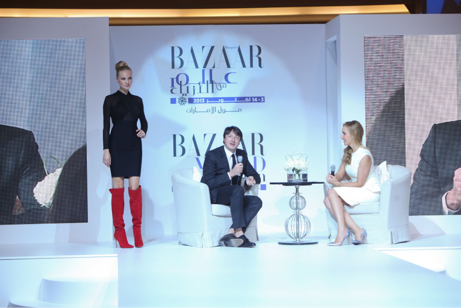 Q&A with Gianvito Rossi, Mall of the Emirates, October, 2013
