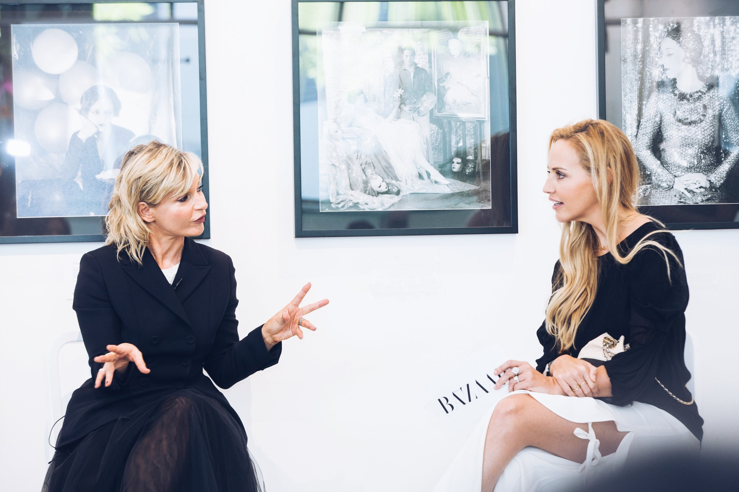 Kurt Geiger's Rebecca Farrar-Hockley interview, Sothebys Dubai, May 2017