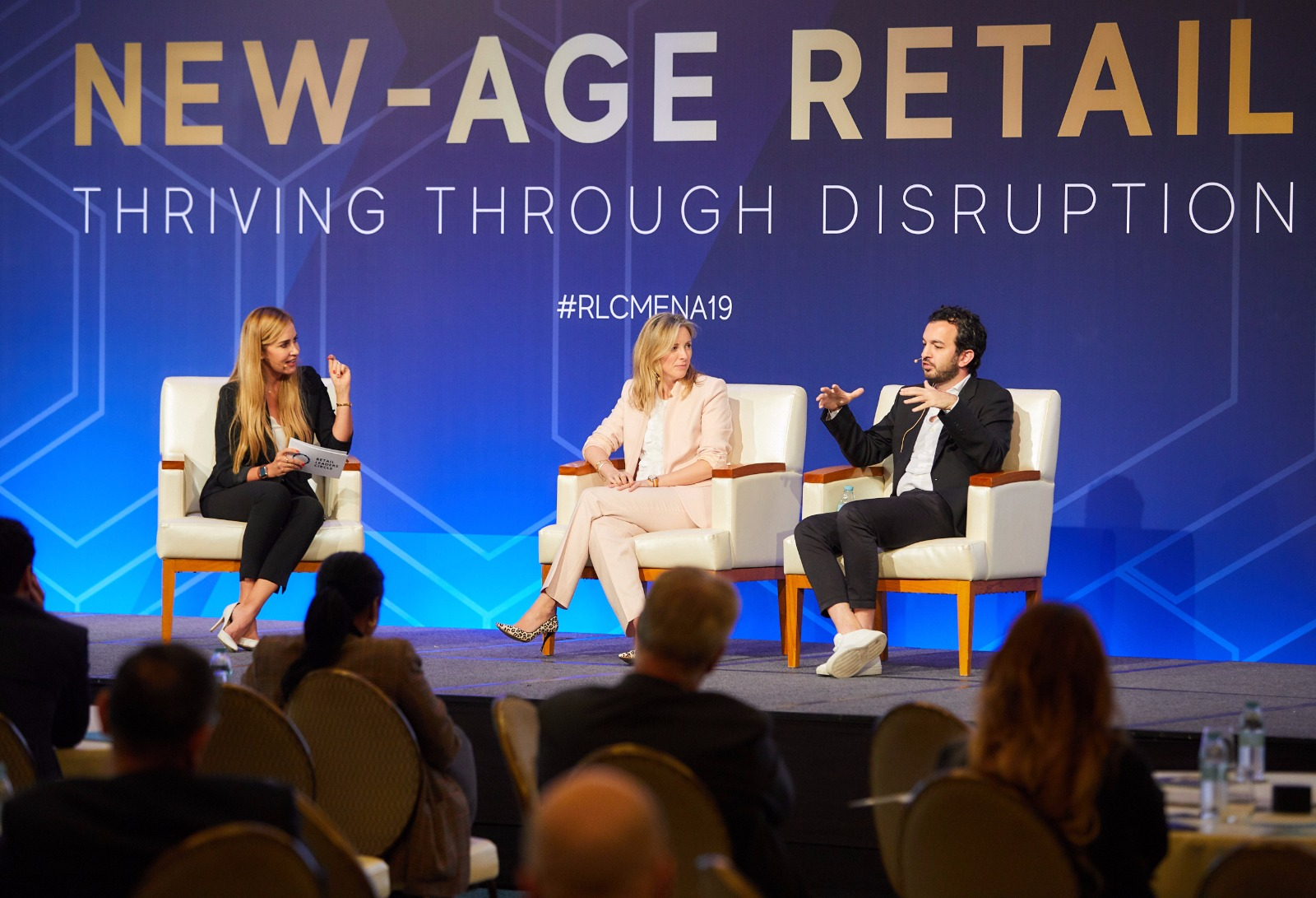 Farfetch panel with Stephanie Phair and Edward Sabbagh, Retail Leaders Circle, Four Seasons Jumeirah