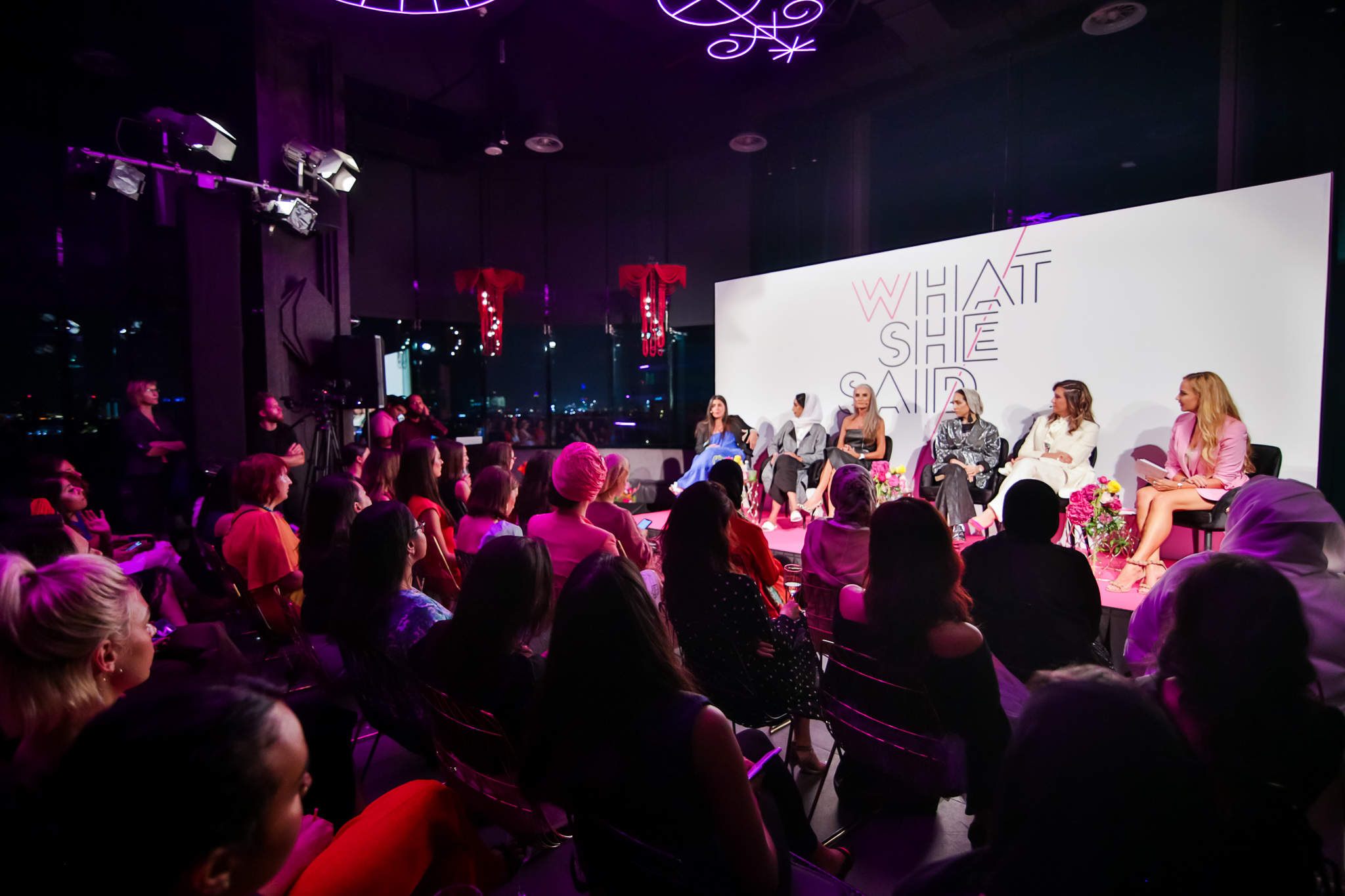 What She Said, panel host for W Hotels, June 2019