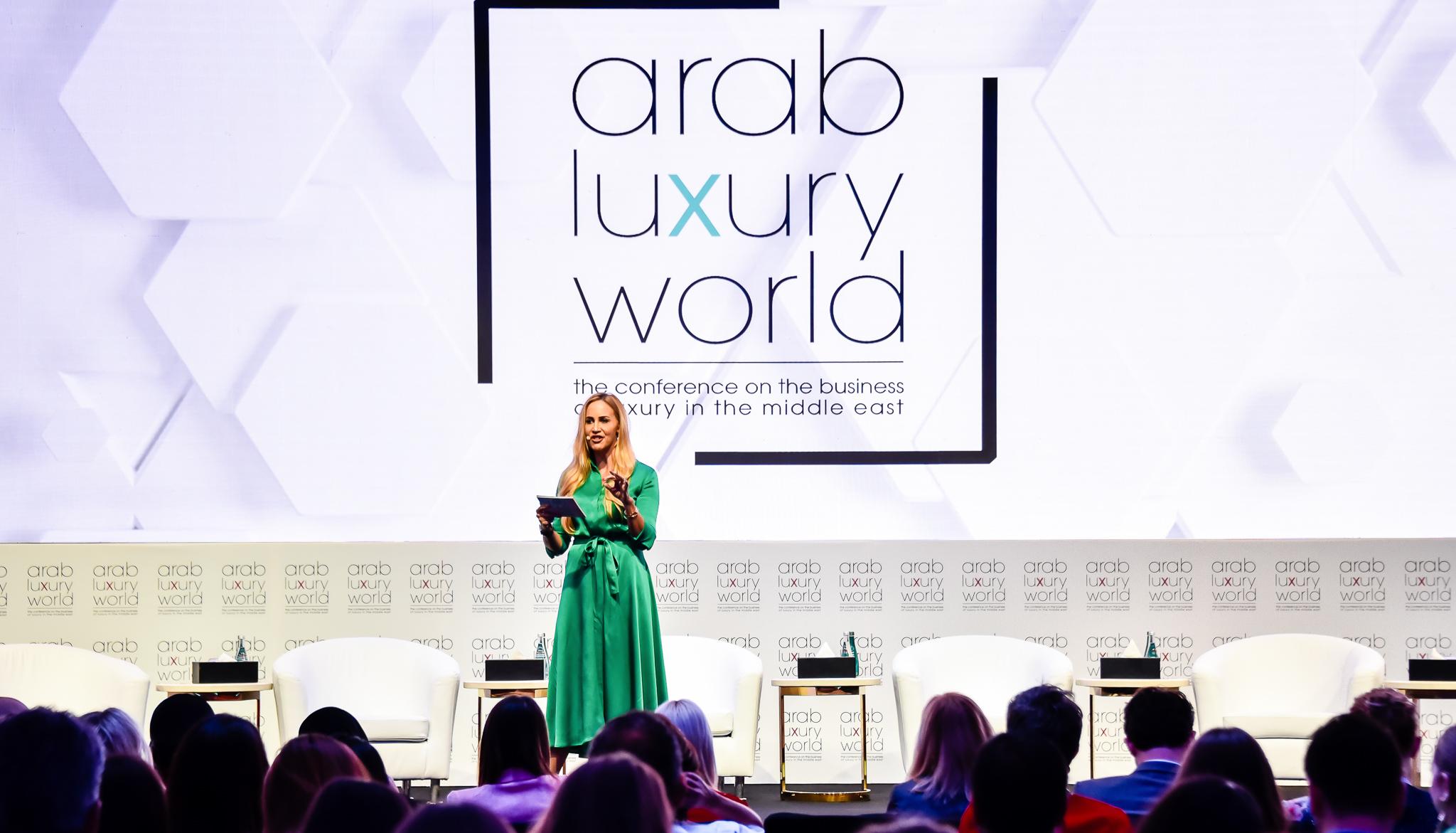 Arab Luxury World conference host, June 2019