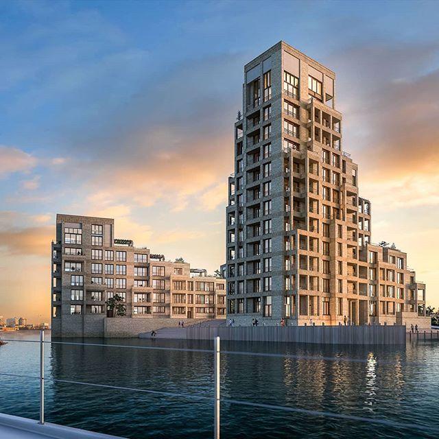 #TuborgStrandeng #hellerup #tuborghavn  Backplate @kontraframe.  #3d #Architectural #Visualization. #Denmark #Rendering #archviz #3dsmax #vray #vrayrender #cgi #itoo #adobe #dronestills