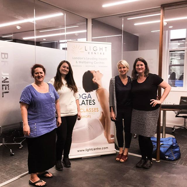Great day at @blayzegroup in London giving 15 minute massages with my fellow @lightcentreuk therapists!  Get in touch for more info on corporate therapies and how you can treat your employees! ✨