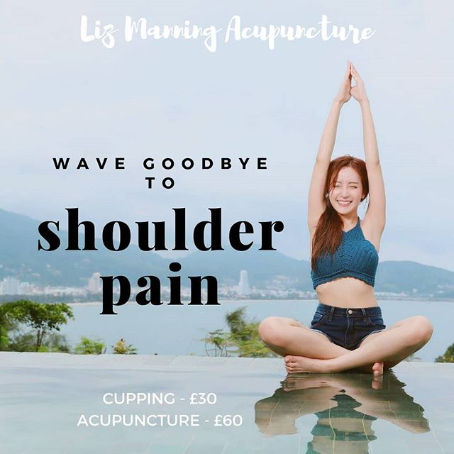 I love helping people get rid of their joint pain! ✨ If you suffer from shoulder, back, neck or other pain and you're interested in acupuncture or cupping, use the link in my bio to book your first appointment today! I still have some cupping appointments available this Thursday evening! 💕