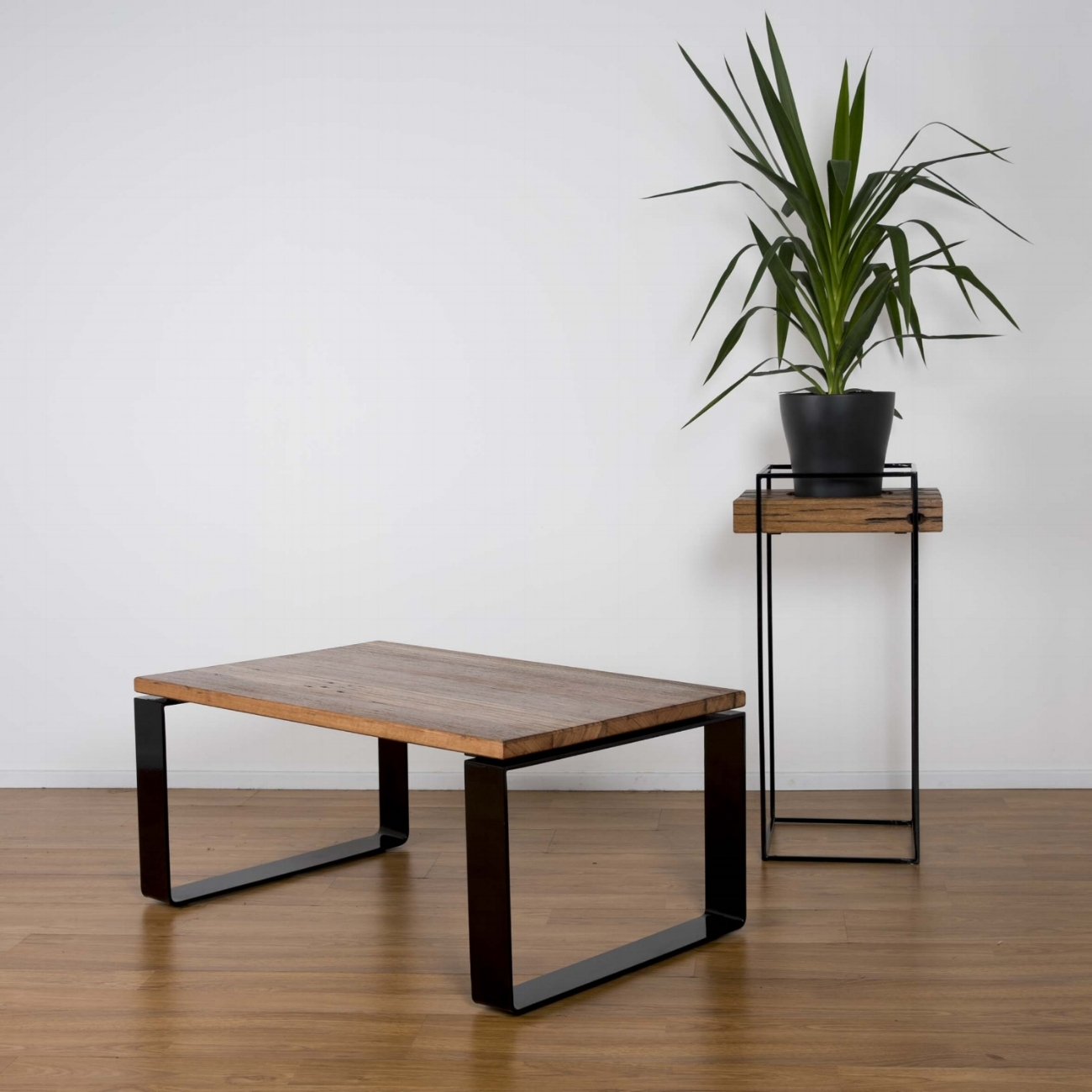 Loop Coffee Table & Eureka Planter