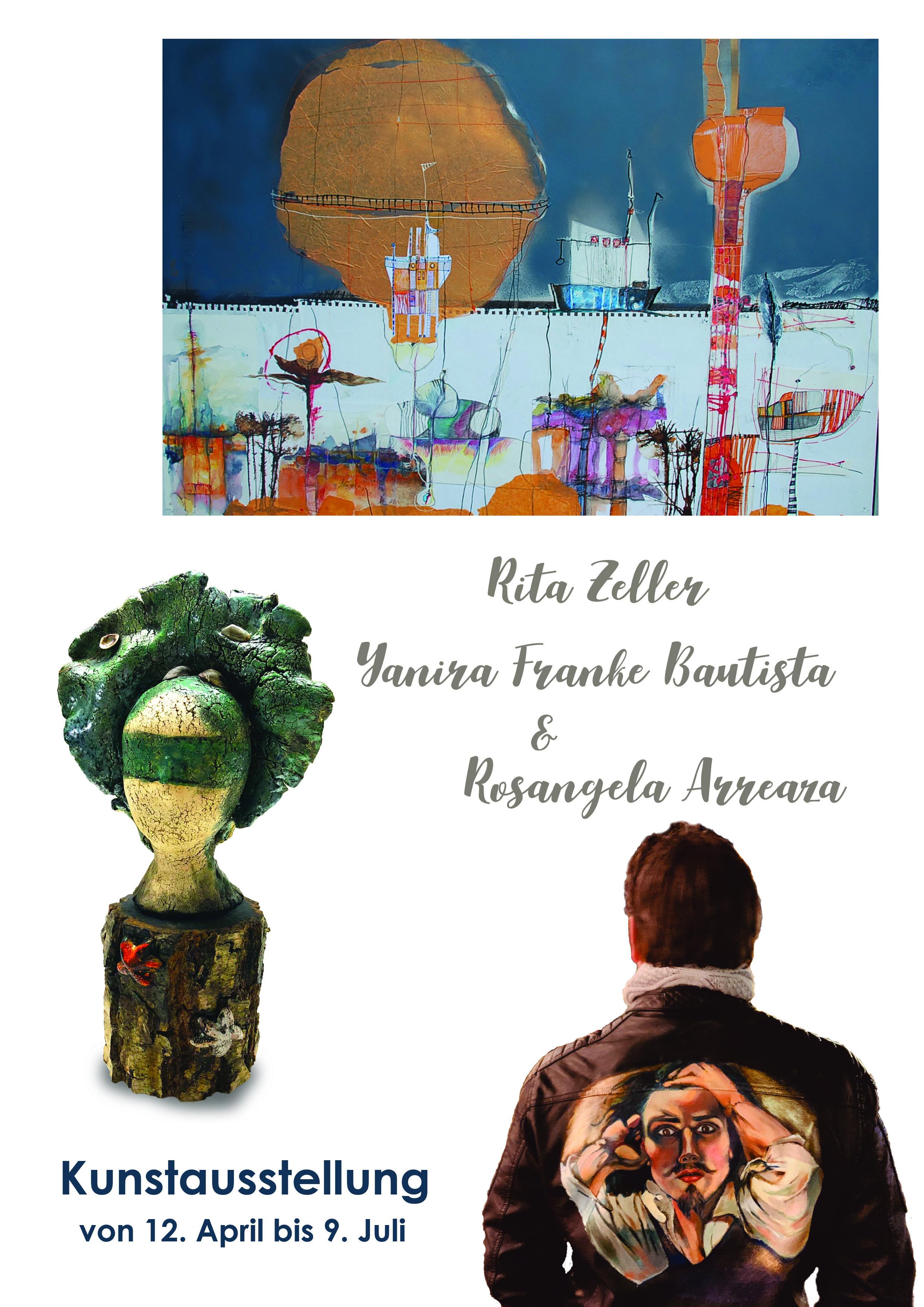 Einladung Rita Zeller, Yanira Franke Bautista & Rosángela Arreaza