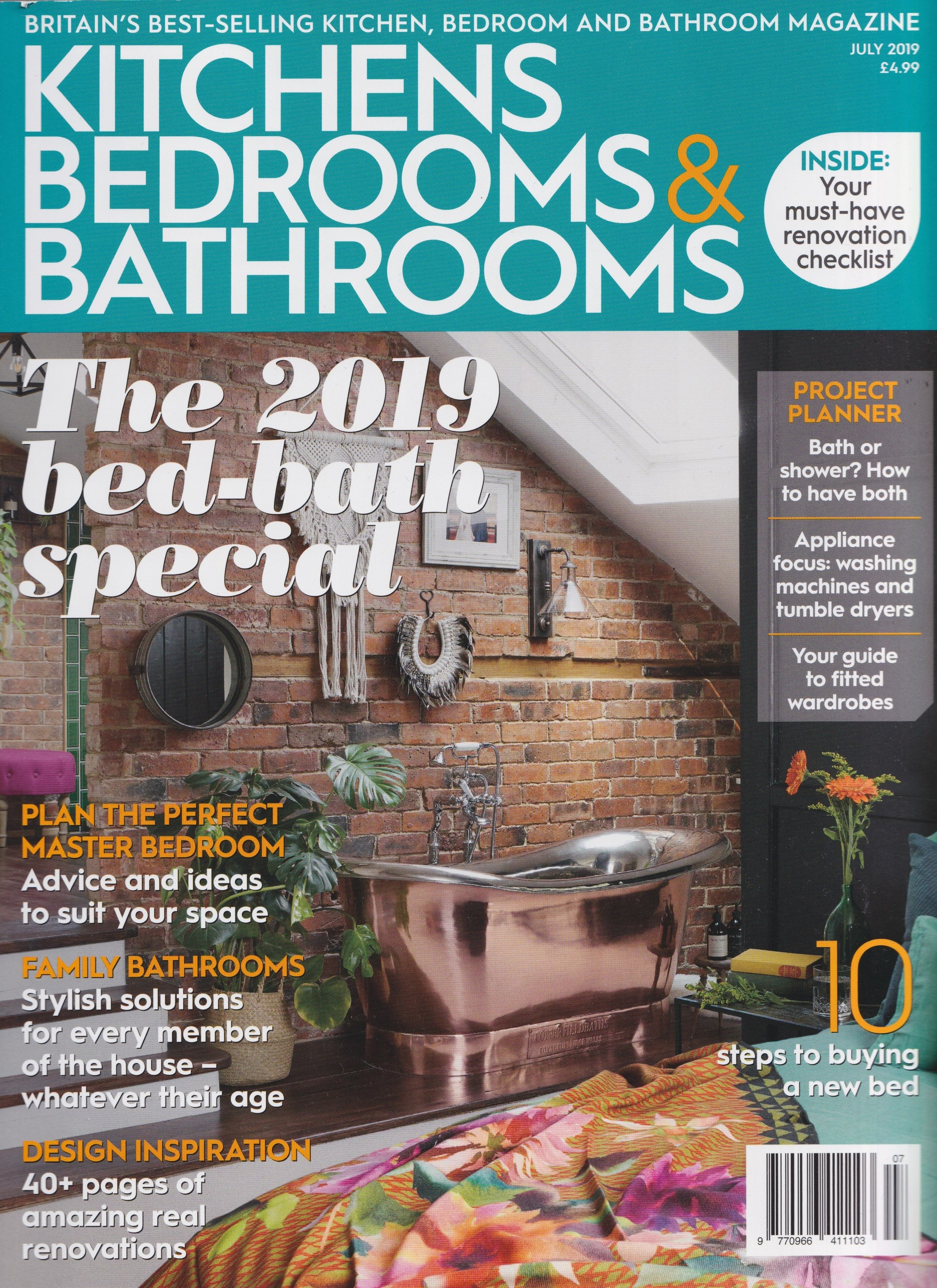 The Kelling Chair  and the Kelling Designs showroom - The Kelling Townhouse featured in KBB Magazine - July 2019