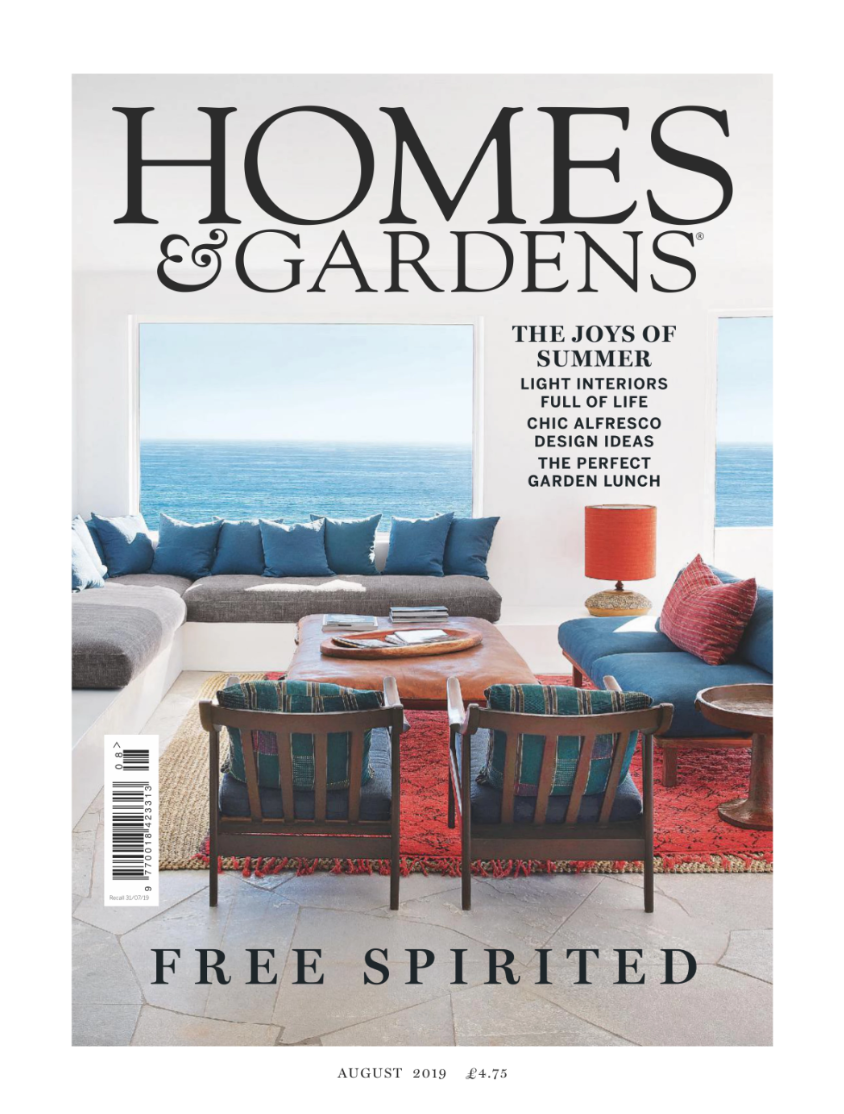 Kelling Town House featured in Homes and Gardens - August 2019