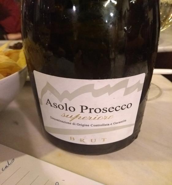 The Consorzio's Asolo Prosecco Superiore which uses wild yeast