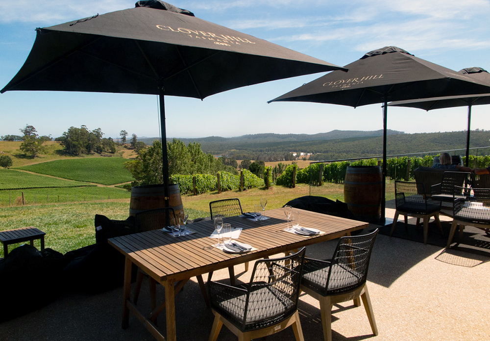 Cellar Door Terrace at Clover Hill