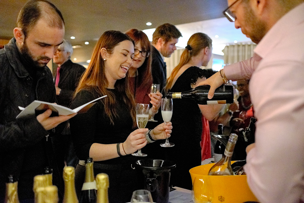 Not all Prosecco's are born equal. Being poured a glass of Bisol is certainly a reason to smile.