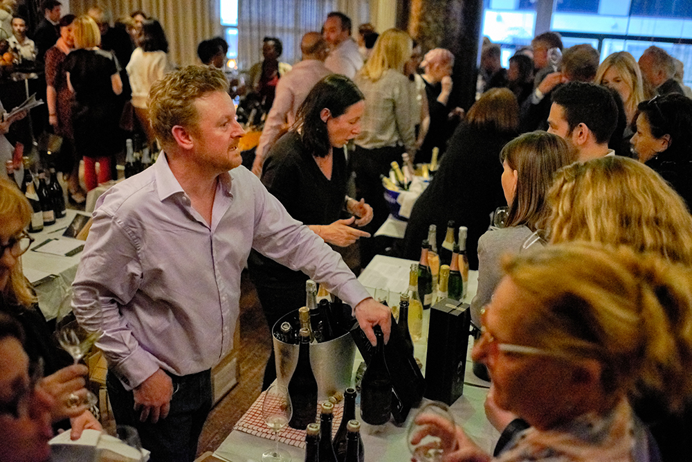 If our event had a rock star it surely was Dermot Sugrue, whose wines were some of the crowd's favourites