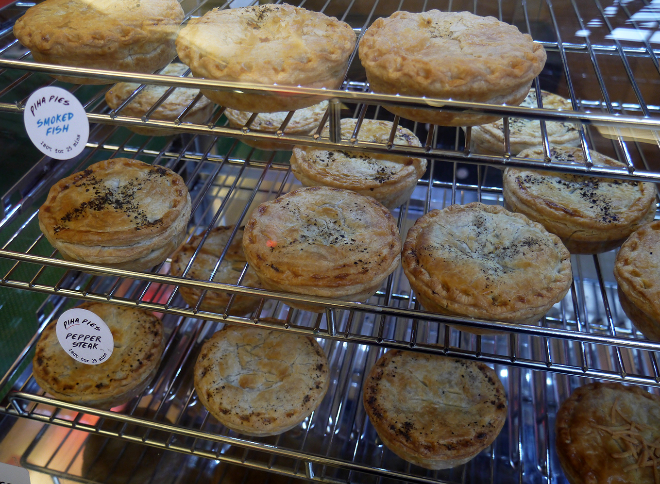 And the delicious pies everyone was talking about!!