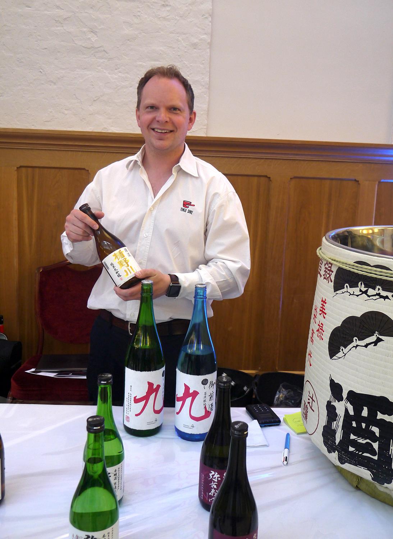 Oliver Hilton-Johnson, of Tengu Sake