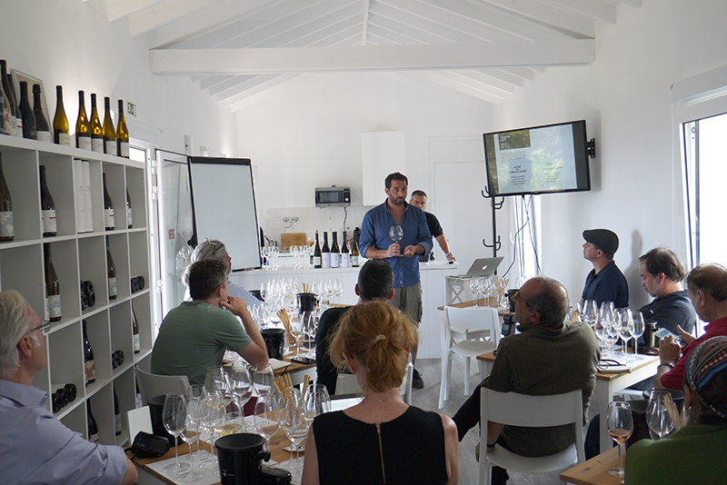 Tasting with Antonio Maçanita at Azores WInes Company