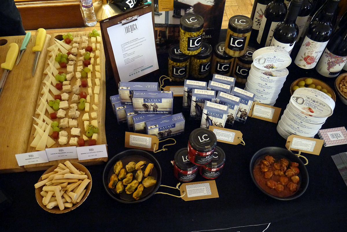 Iberica's exquisite product selection