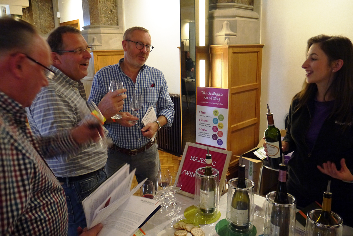 Wonderful to have Majestic Wine back with a wonderful range and a smart educational approach