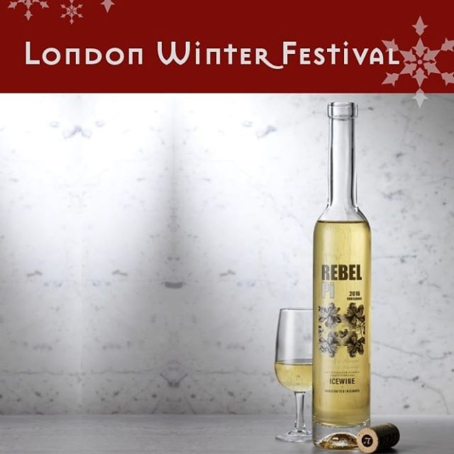 Calling out all #original #rebels! Come taste Jackie Fast's @rebelpi premium Ice Wine at our #london #winter #festival on November 16th.  Delicious, exclusive and authentic! #drinkrebelpi #wine #winetasting #londonevents