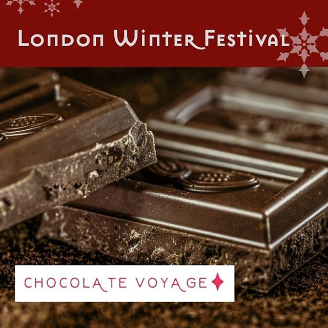 Nothing better than chocolate & whisky on a grizzly day... Looking forward to having @chocolatevoyage again at our London Winter Festival. Founder and master taster Tracy Chapman will be hosting a delicious #Chocolate & #Whisky pairing pop-up! 🥃😋 #wine #winefestival #foodandwine #londonfestivals #christmas2019
