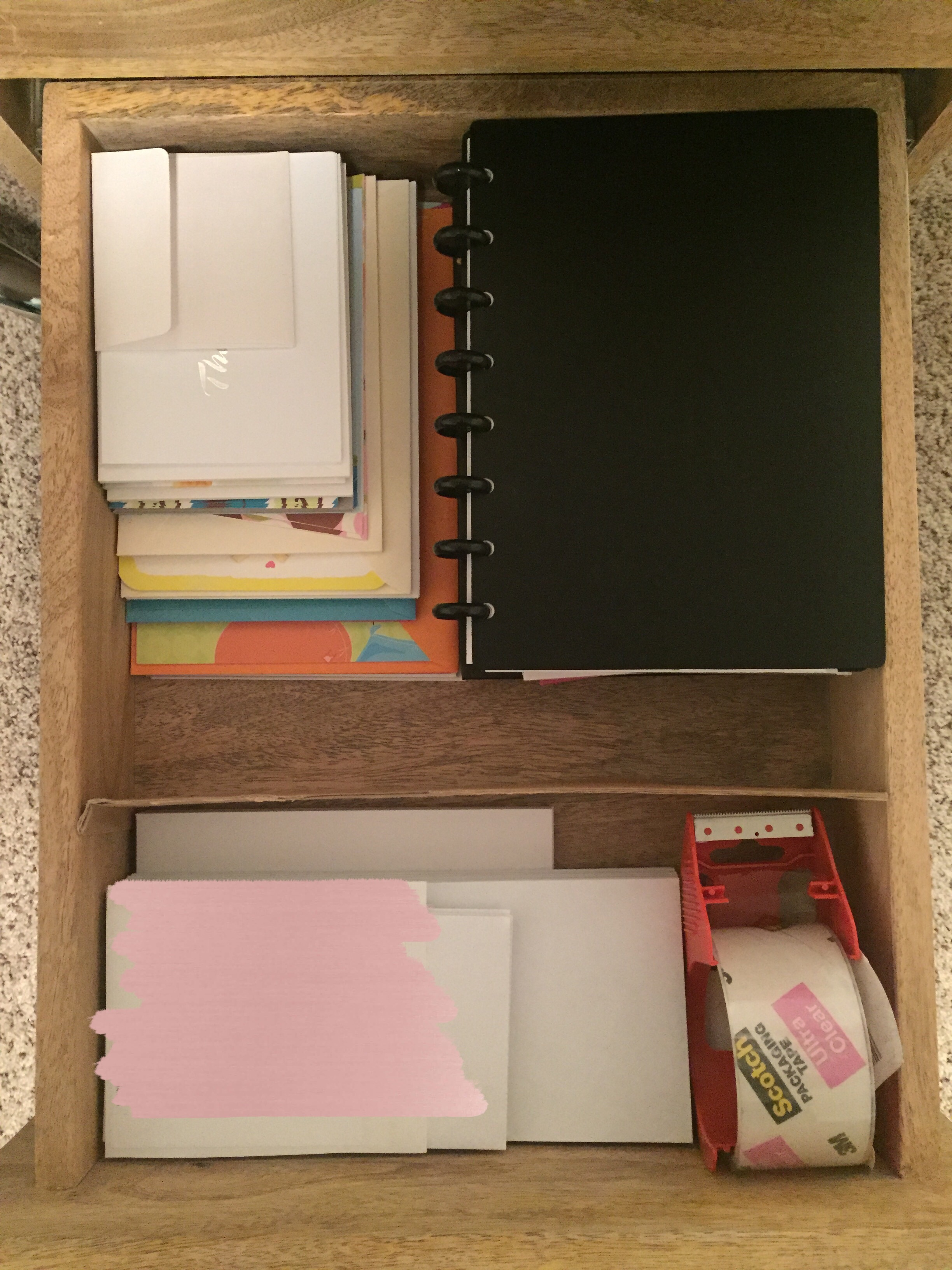 AFTER - Paper Drawer.
