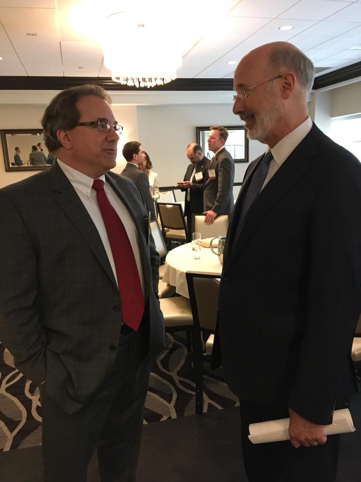 Greg Russak  specializes in opening new markets primarily for small and emerging tech companies. He has served in roles with P&L/General Management responsibility – from start-up to multi-billion dollars. Here, he speaks with Pennsylvania Governor Tom Wolf.