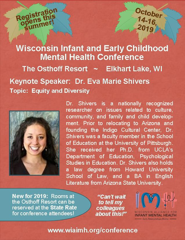 Conference — Wisconsin Alliance for Infant Mental Health