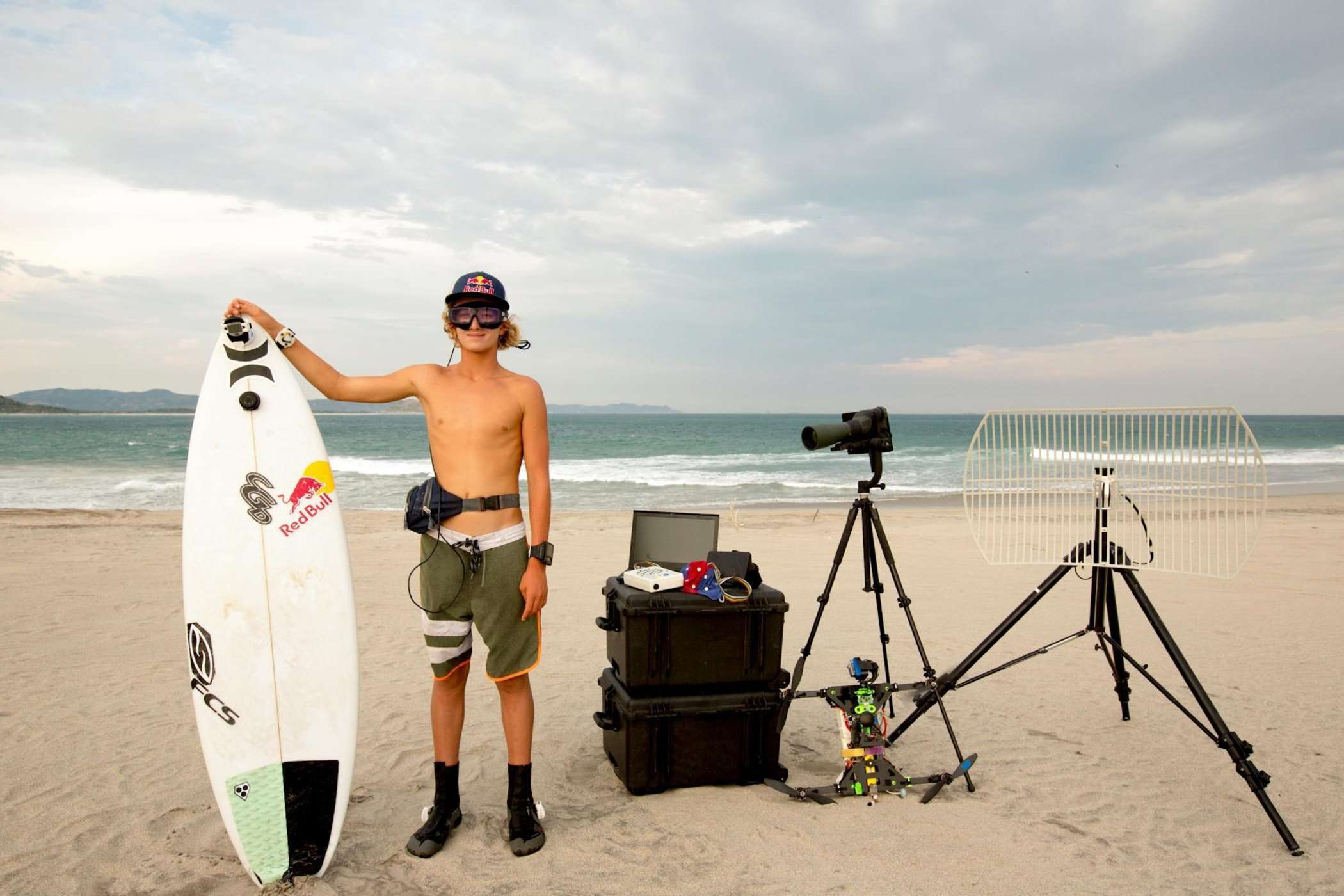 PPS Technology and Red Bull team up to improve athlete surfing performance in Mexico.
