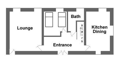 Badger's House Ground Floor