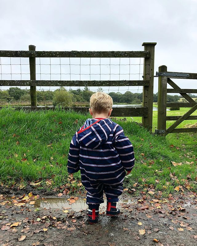 Autumn has well and truly arrived 🍂 the wet weather has brought lots of fun muddy puddles for little ones to enjoy 💦