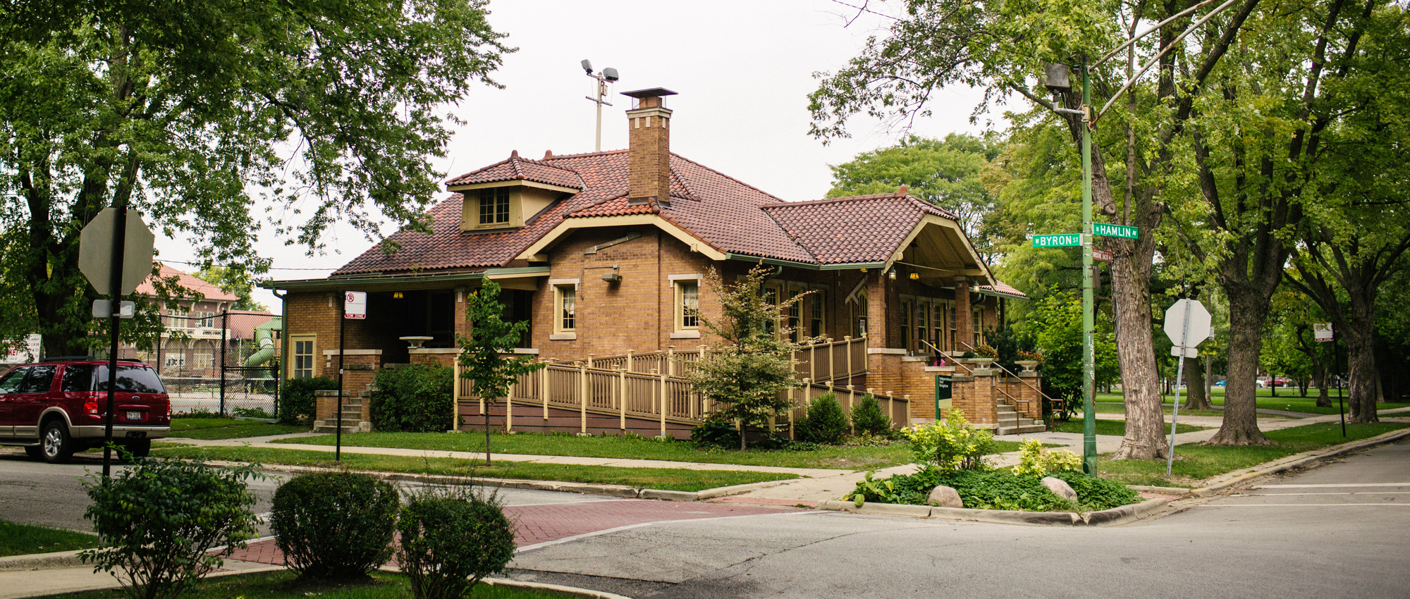 The Bungalow was gifted to Independence Park in 1936.