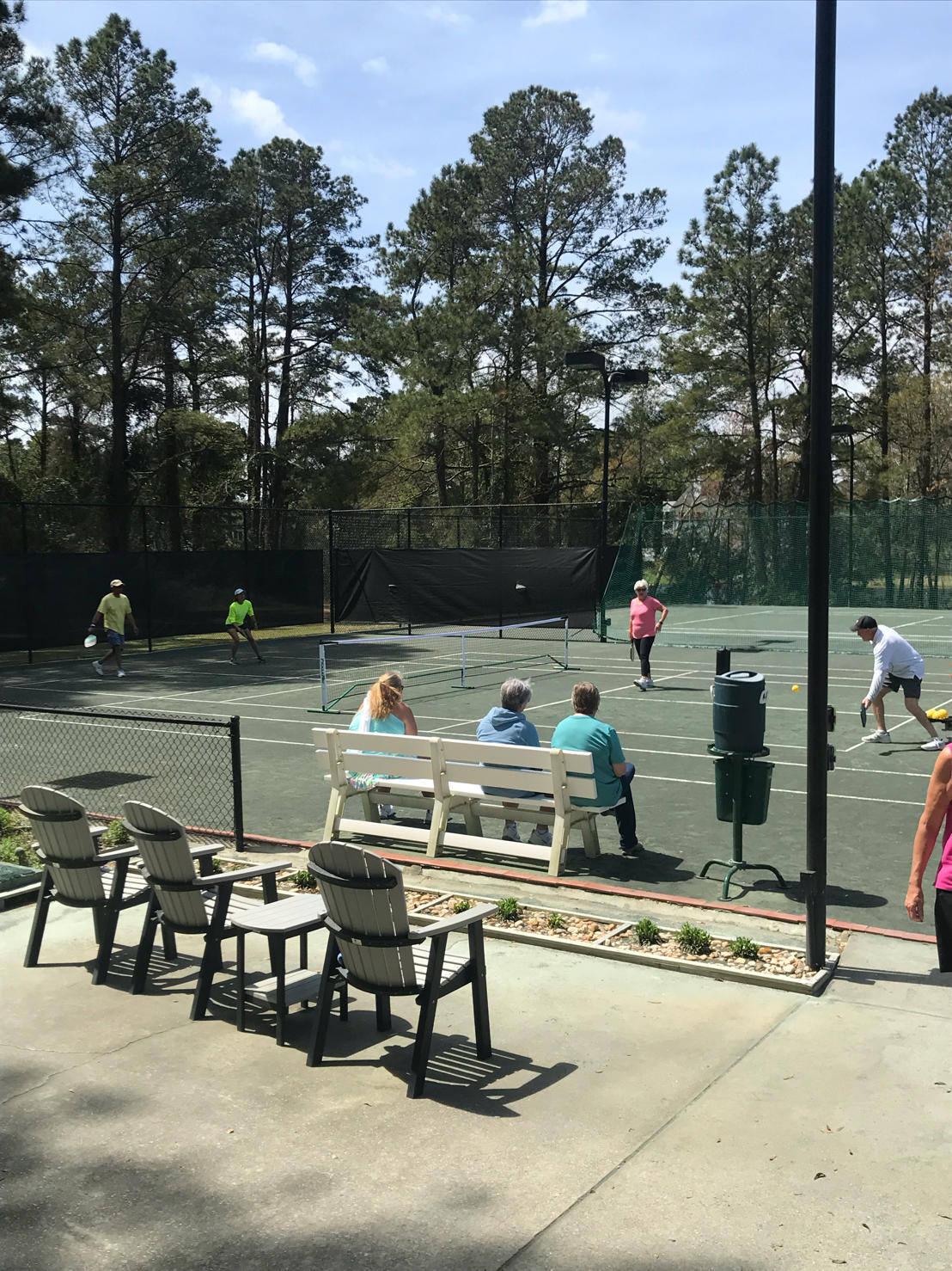 Clubs are now offering Pickleball on Clay Tennis Courts