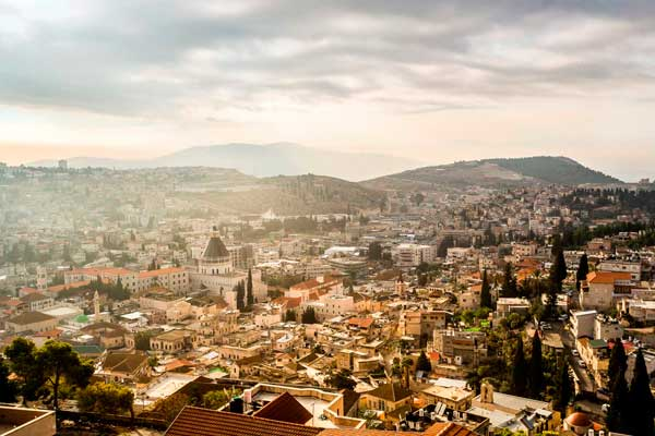 Nazareth - It was in Nazareth, that a young girl called Mary, known at that time as Miriam, was betrothed to Joseph…