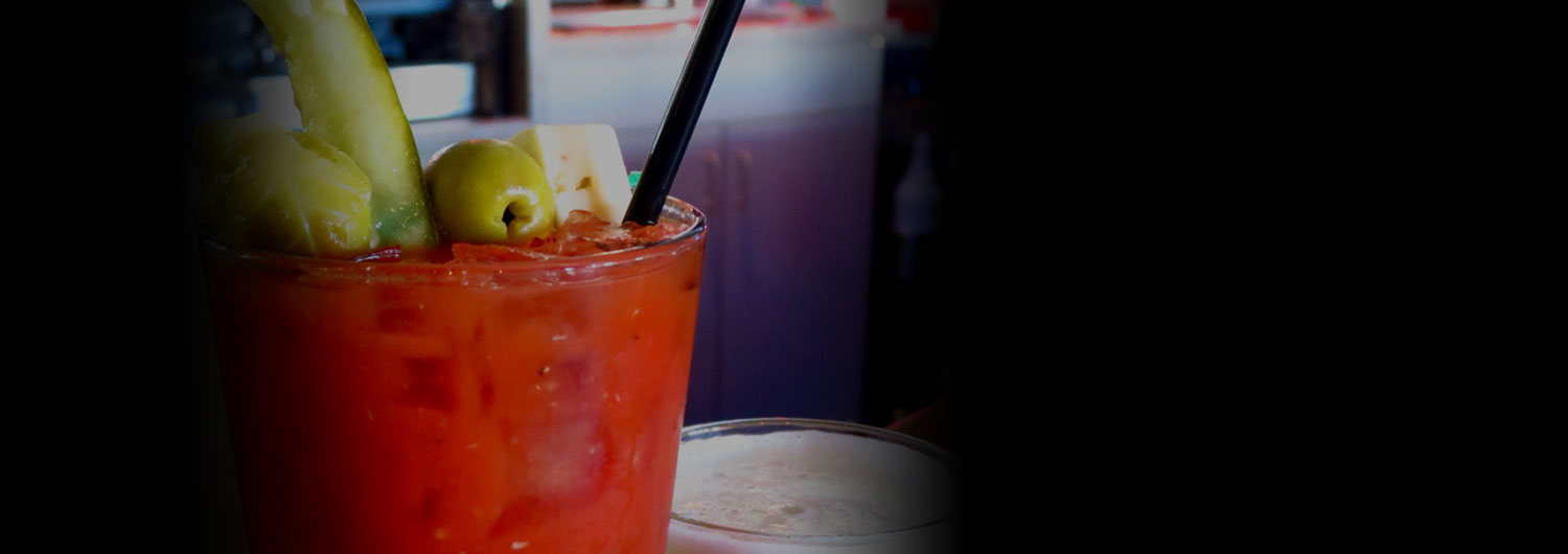 Howie's Bloody Mary Bar!