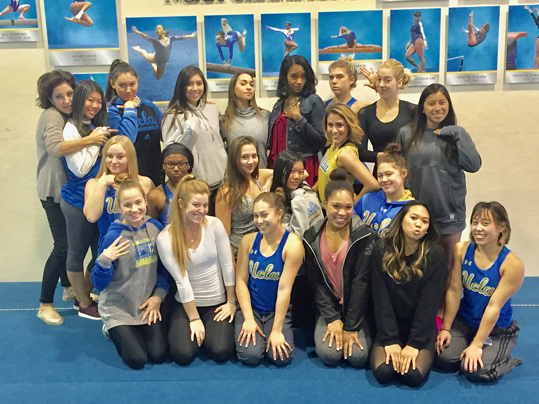 Kim with 2018 NCAA Champions, UCLA