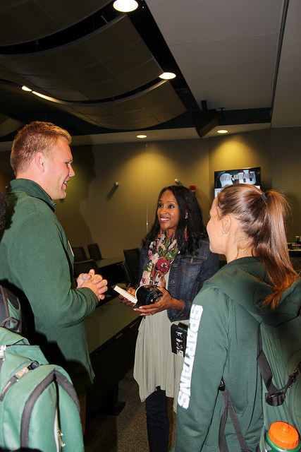 w/ Michigan State Athletes