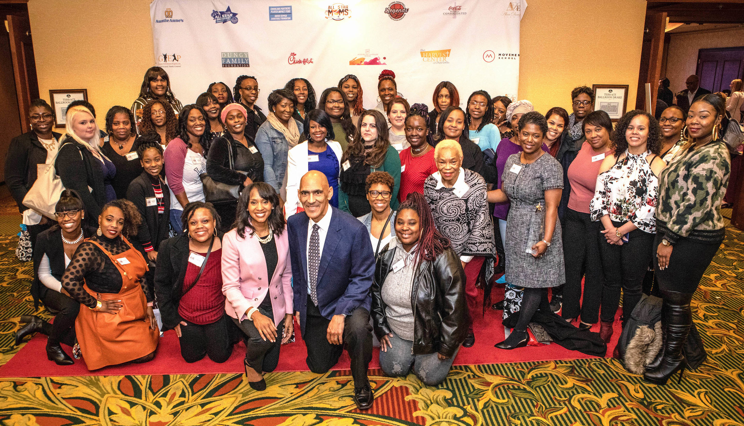 Charlotte All-Star Moms with Tony Dungy and Kim Anthony (2019)