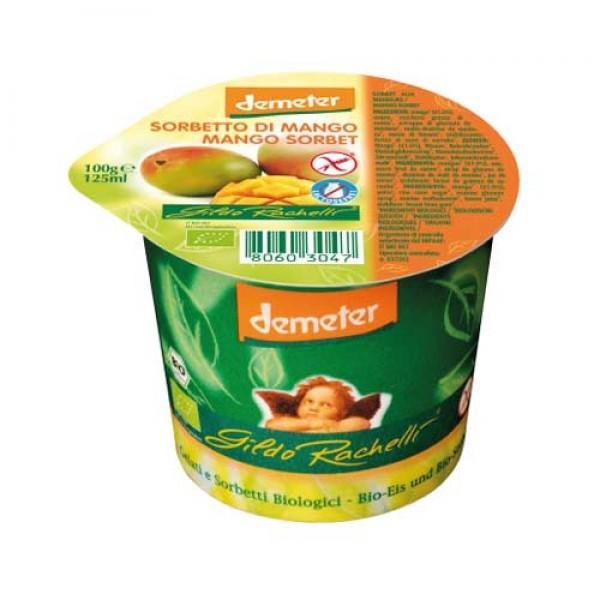 Mangosorbetti 125 g, vegan
