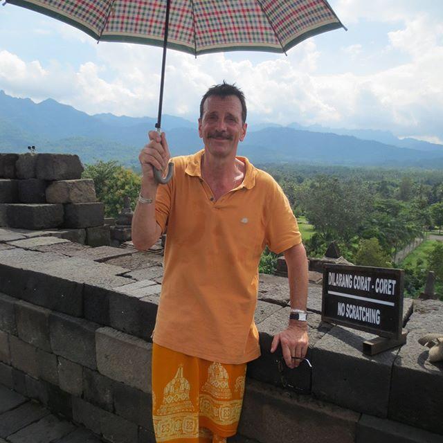 a trip to Borobudur ...